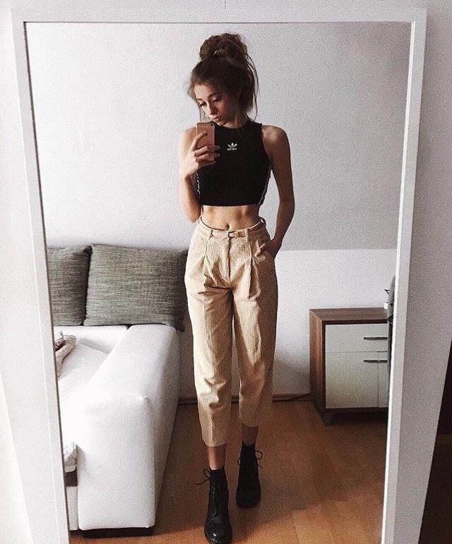 ᴇᴍᴍᴀ_ᴡᴇᴇᴋʟʏ ☆ Instagram @yxcvanessa Grunge Outfit