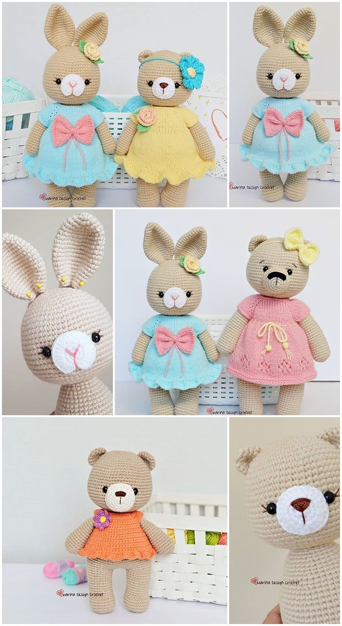 Amigurumi Best Doll Free Crochet Patterns - Amigurumi #crochetdoll