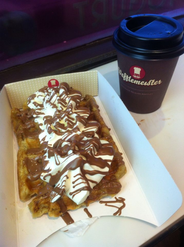 Wafflemeister. It is highly recommended in social network. This is a life-changing waffle and ice cream. I also like the name!