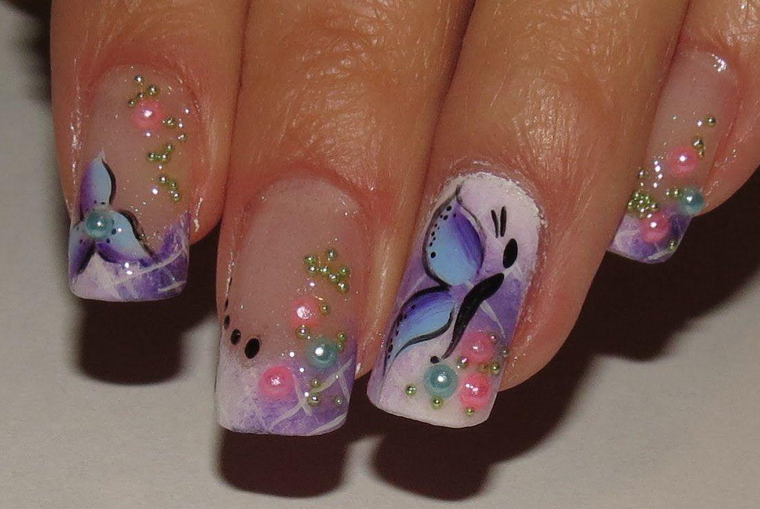 How to do ombre white and purple spring fairy nail art manicure step how to do ombre white and purple spring fairy nail art manicure step by step diy solutioingenieria Choice Image