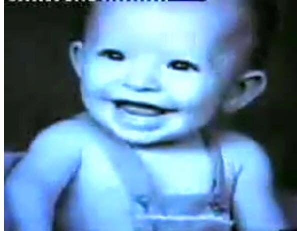 Un bebe precioso. Tu sonrisa siempre fue especial.