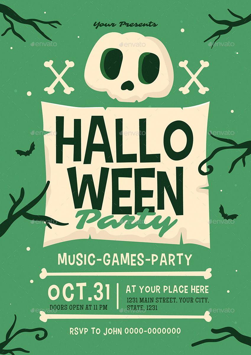 Halloween Event Flyer Halloween, Event, Flyer