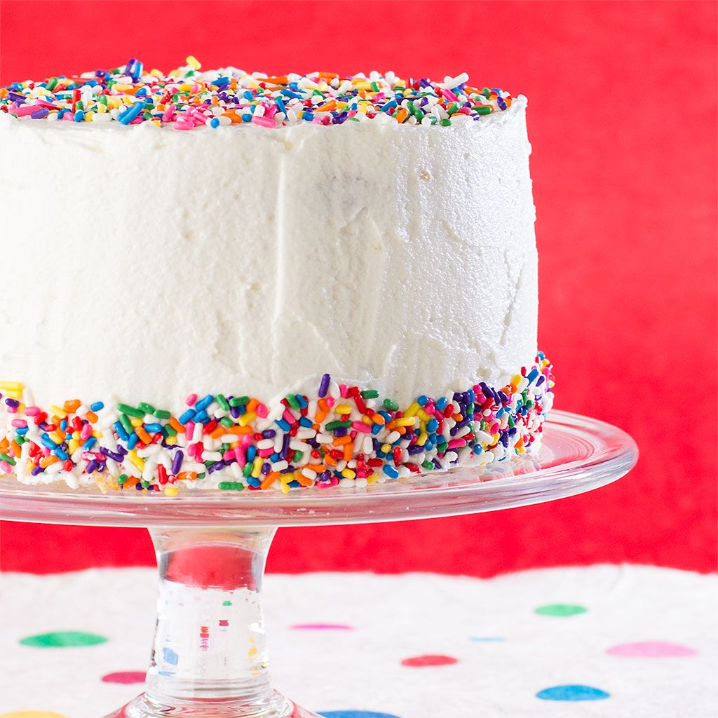 Funfetti cake to celebrate everything with images