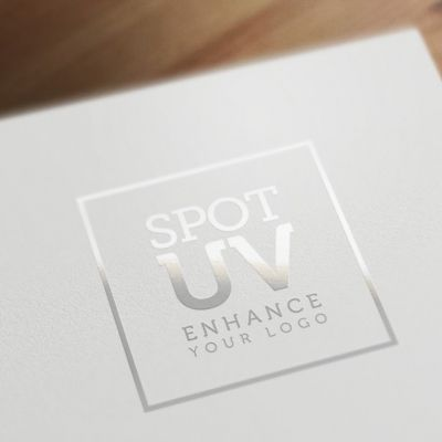 Spot Uv Logo Mockup Psd Files Gfxnerds Visitenkarten Karten Uv Lack