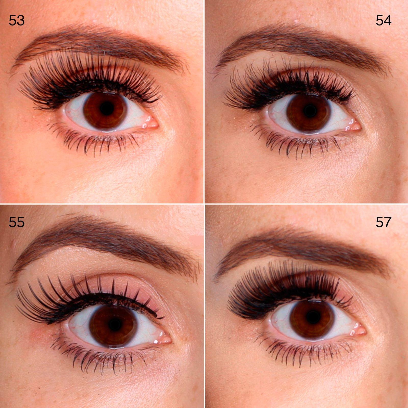 100 False Lashes Tested On One Eye Picture Reviews Best Eyelasheswedding