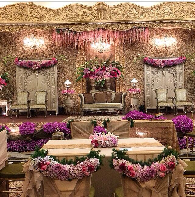 That classic gold gebyok for the bride the groom pinterest deep purple wedding junglespirit Image collections