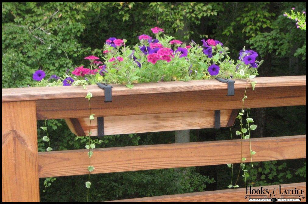 Deck Railing Brackets Flowerbox Deck Railing Brackets Planterbox
