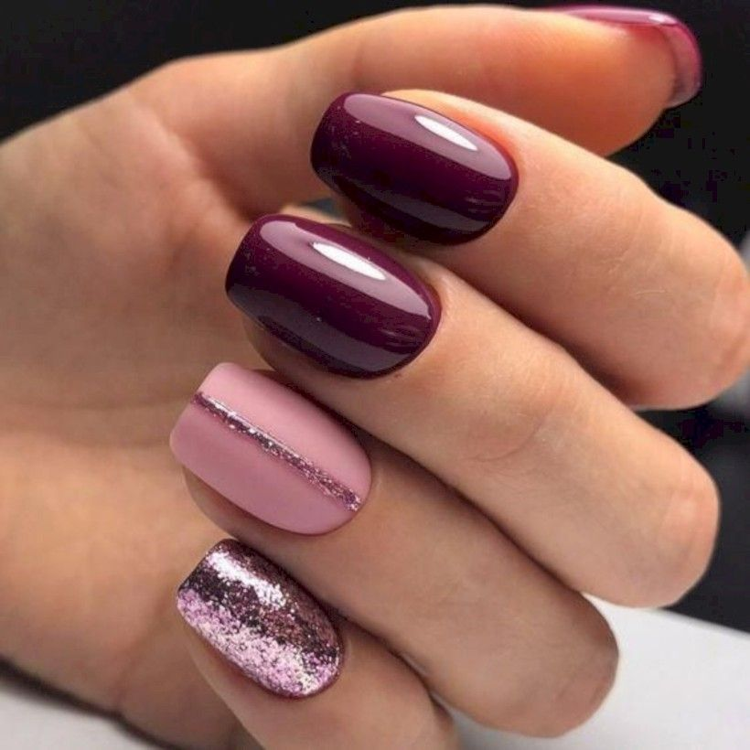 36 Winter Nail Colors Trendy Of Winter Nails 2019 Simple Nails