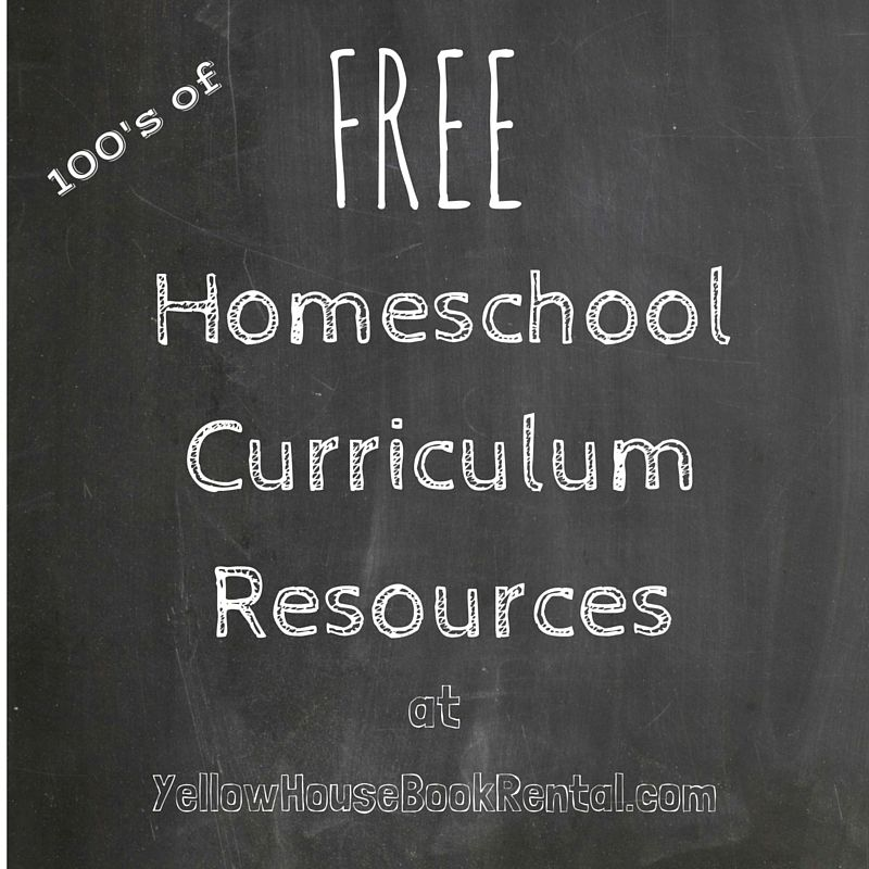 "Free Apartment Rental Sites: Find 100""s Of Free Homeschool Resource Links At Yellow"