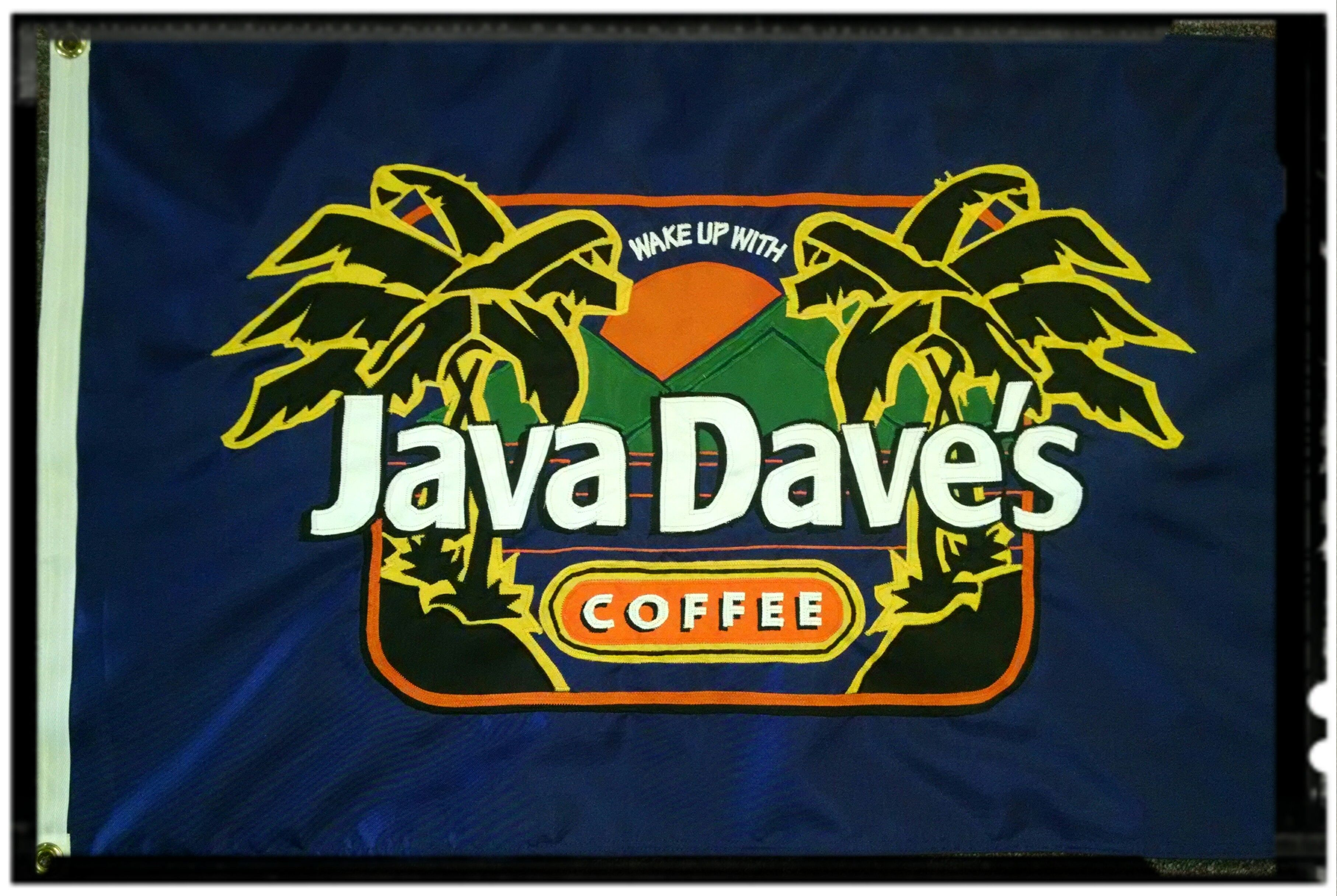 We Made This Custom Applique Flag For Java Dave It S A 2 X3 Double Constructed Two Flags Sewn Back To Back He Loved It Fashion Women Store