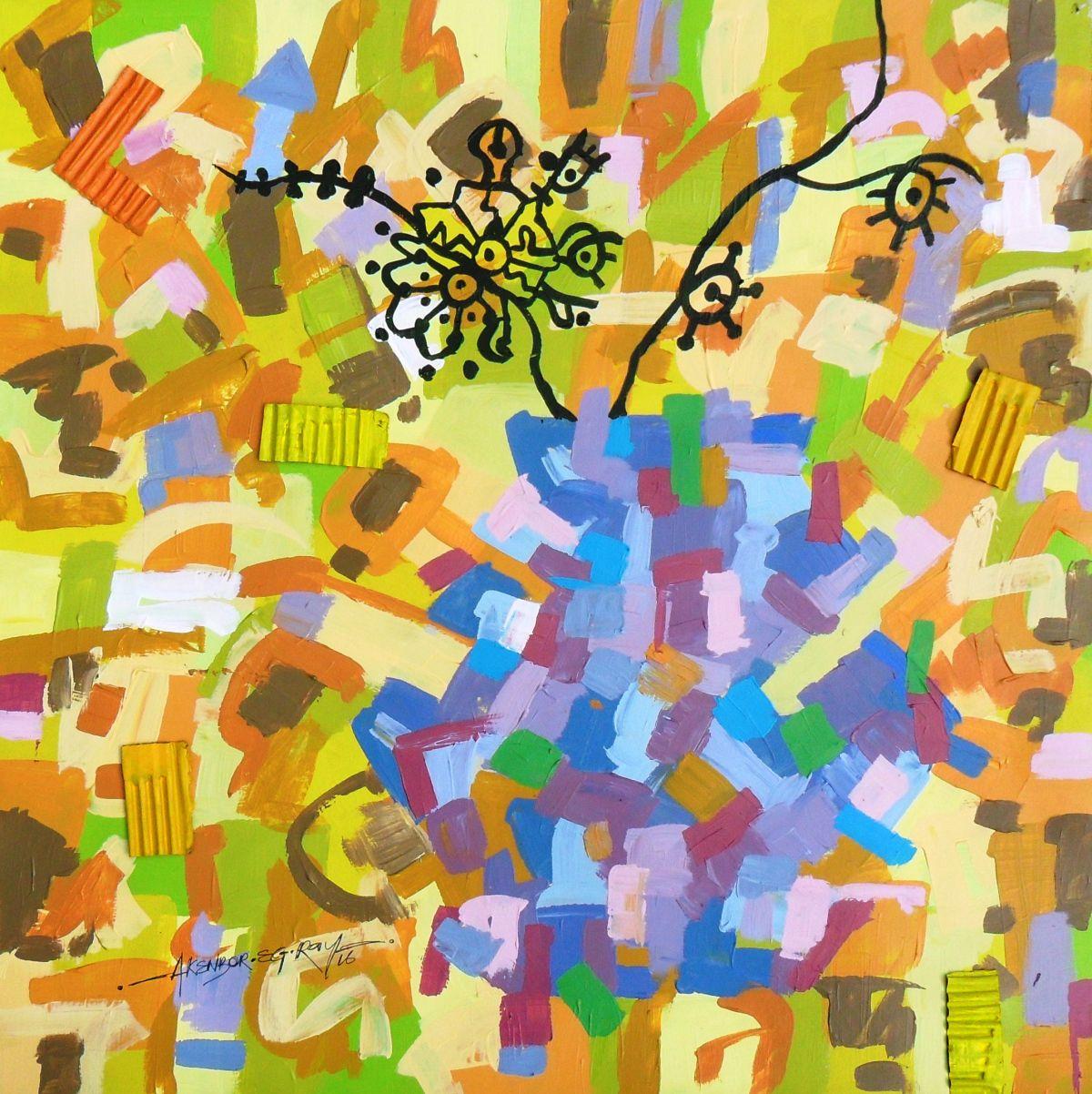 abstract contemporary mixed media painting | Inspiring Art ...