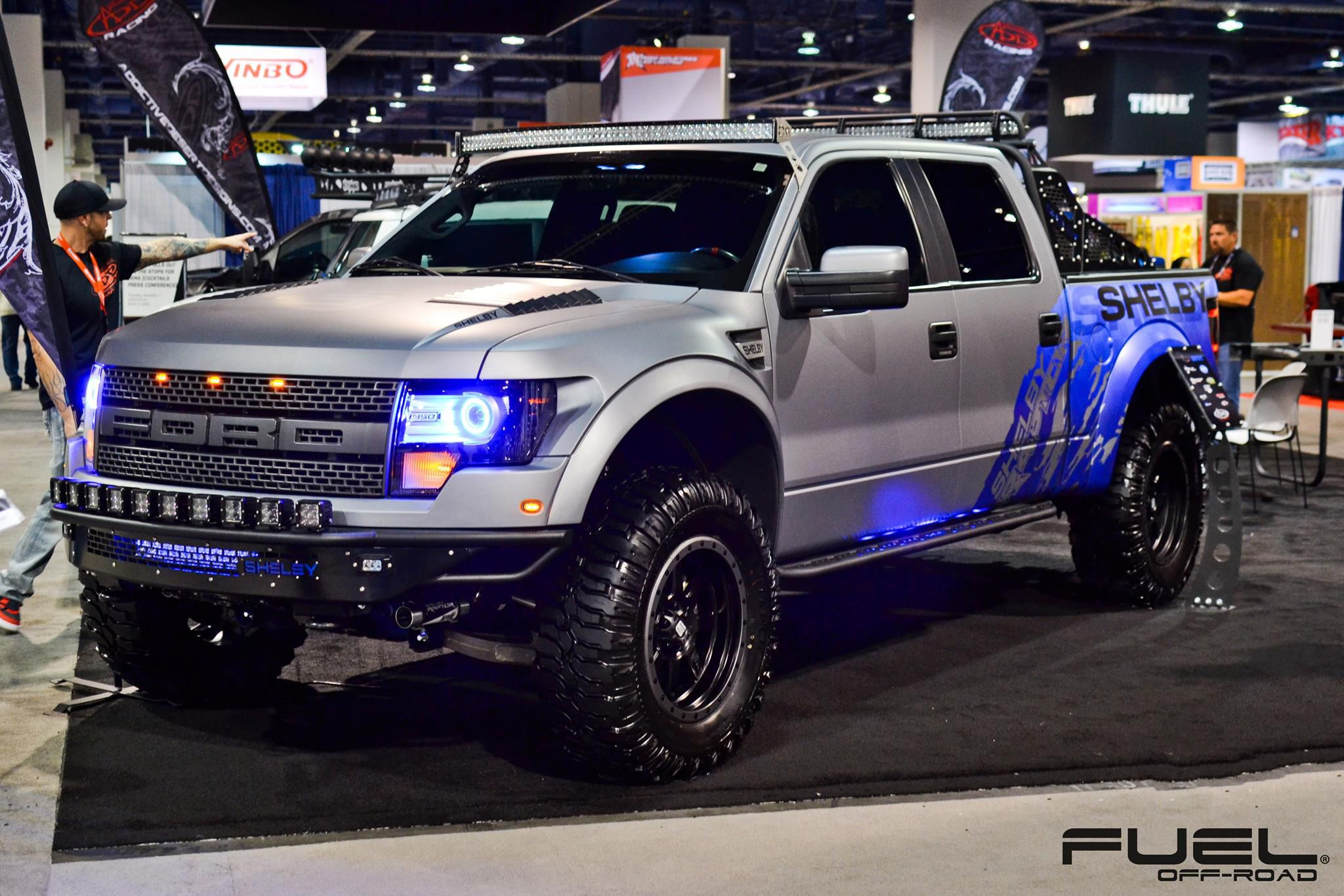 Ford F 150 Raptor With Fuel 1 Piece Wheels Trophy D551