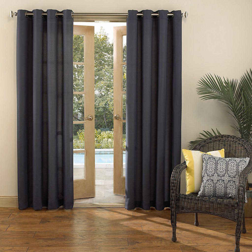Window coverings to block sun  sun zero uv blocking reed indoor  outdoor woven curtain  products