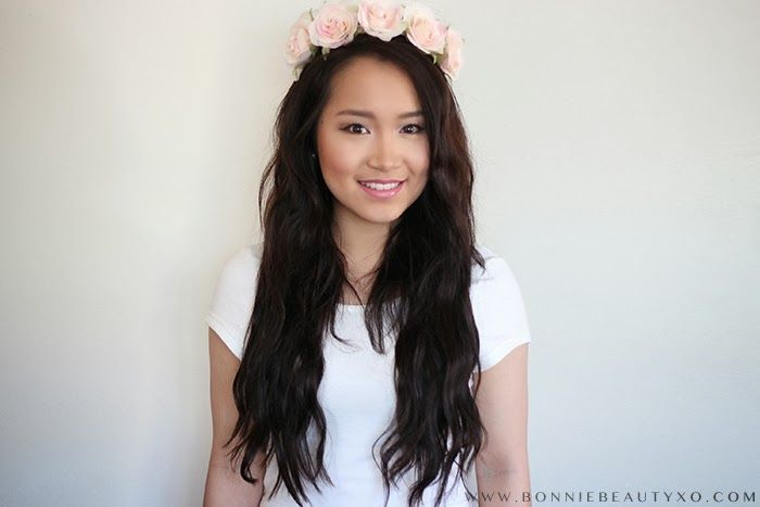 Bonniebeautyxo And A Beautiful Floral Crown Check Out This Luxy
