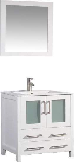 Photo of Karson 30″ Single Bathroom Vanity Set with Mirror | Joss & Main