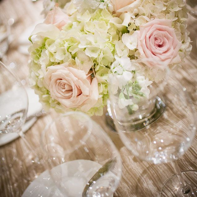 Perfect In Pastel! Flowers In Cream, White And Blush Set A
