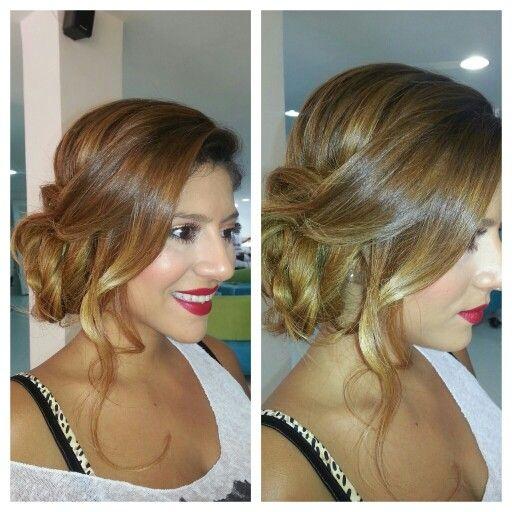 Recogidos Peinados Pinterest Hair style, Hair makeup and Makeup