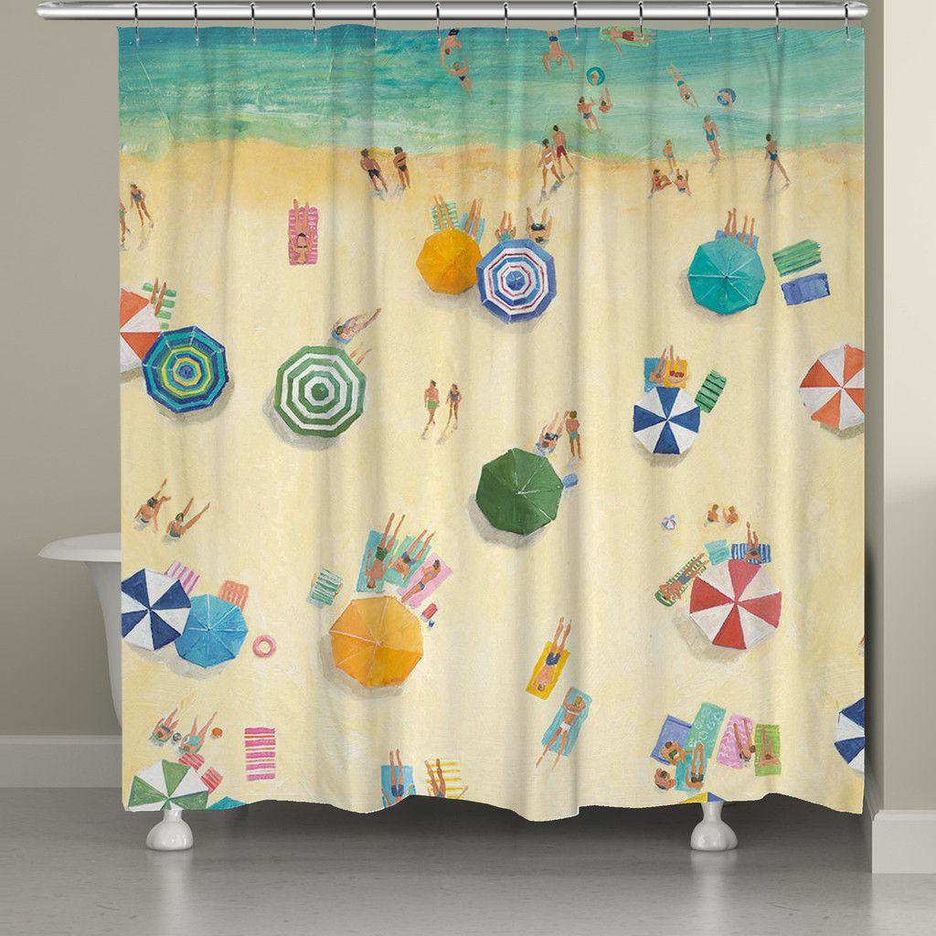 Summer Fun Shower Curtain, Summer Fun by Avery Tillmon