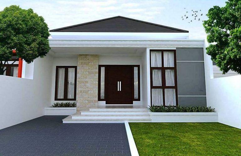 12 Fachadas de casas sencillas Casas Pinterest Fachada de casa