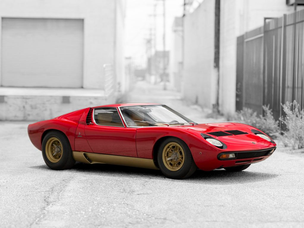 1971 Lamborghini Miura P400  Maintenance/restoration of old/vintage vehicles: the material for new cogs/casters/gears/pads could be cast polyamide which I (Cast polyamide) can produce. My contact: tatjana.alic@windowslive.com
