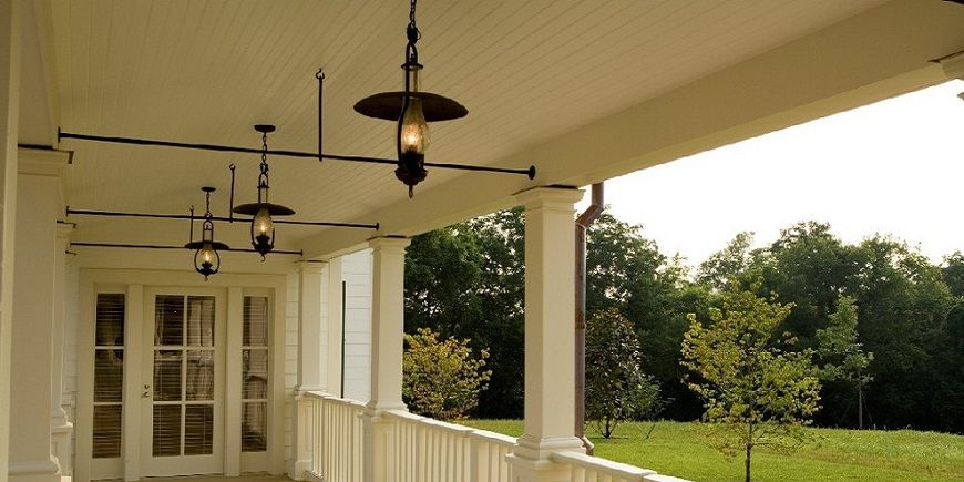 Antique Porch Lights Victorian With