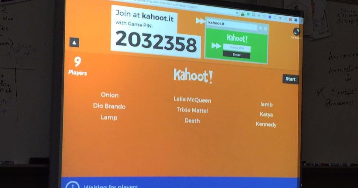 Best Kahoot Names