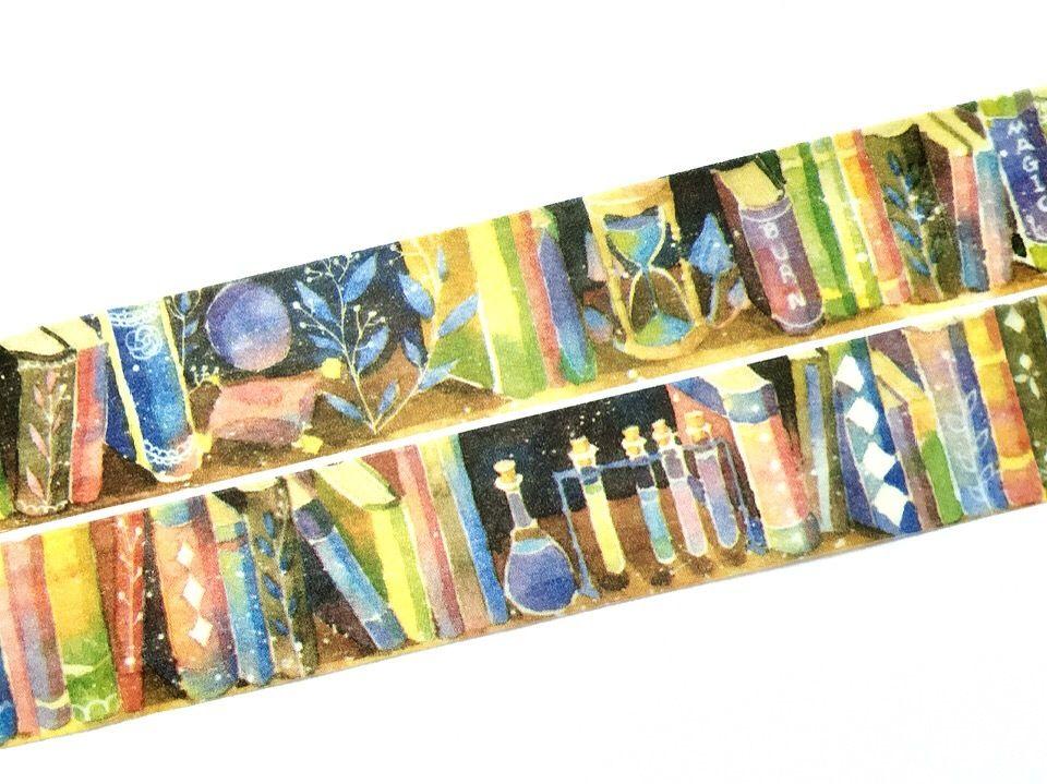 The Bookshelf Washi Tape Meowashitape Harry Potter Calendar