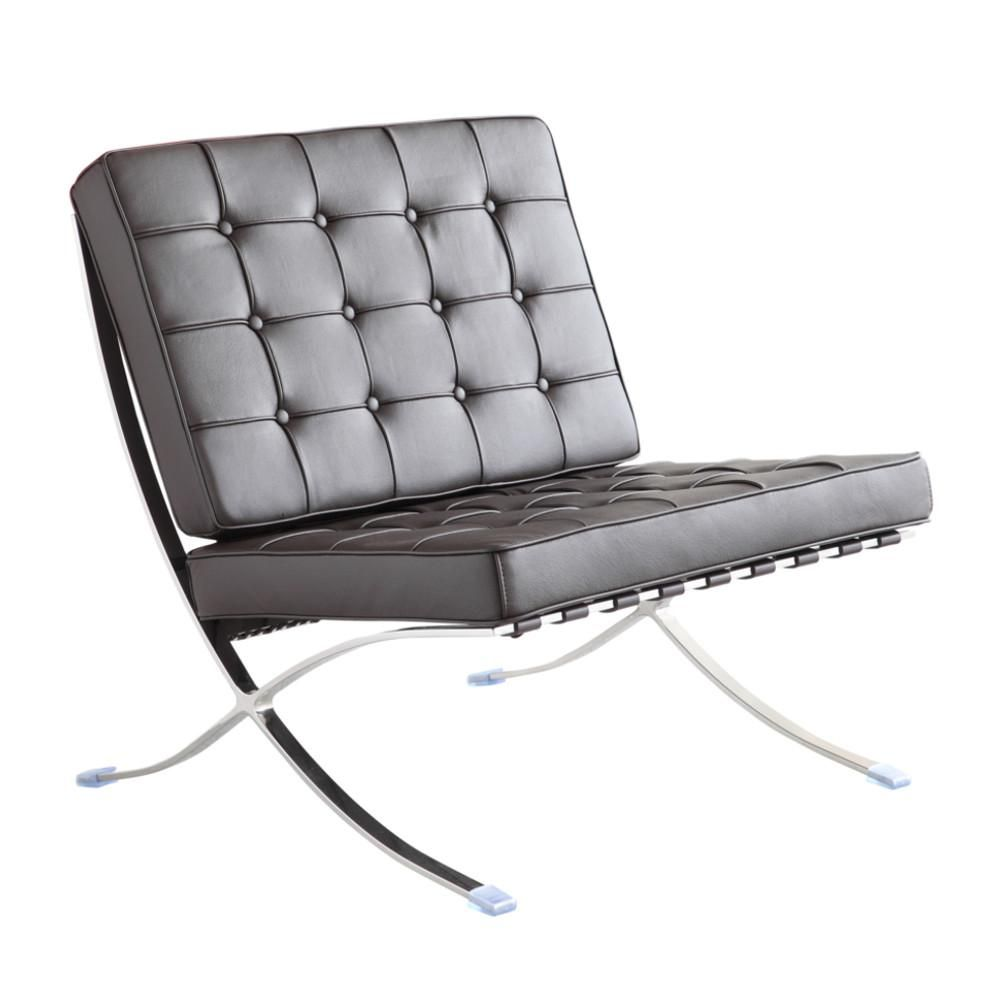 Barcelona Style Leather Chair | Pavilion chair