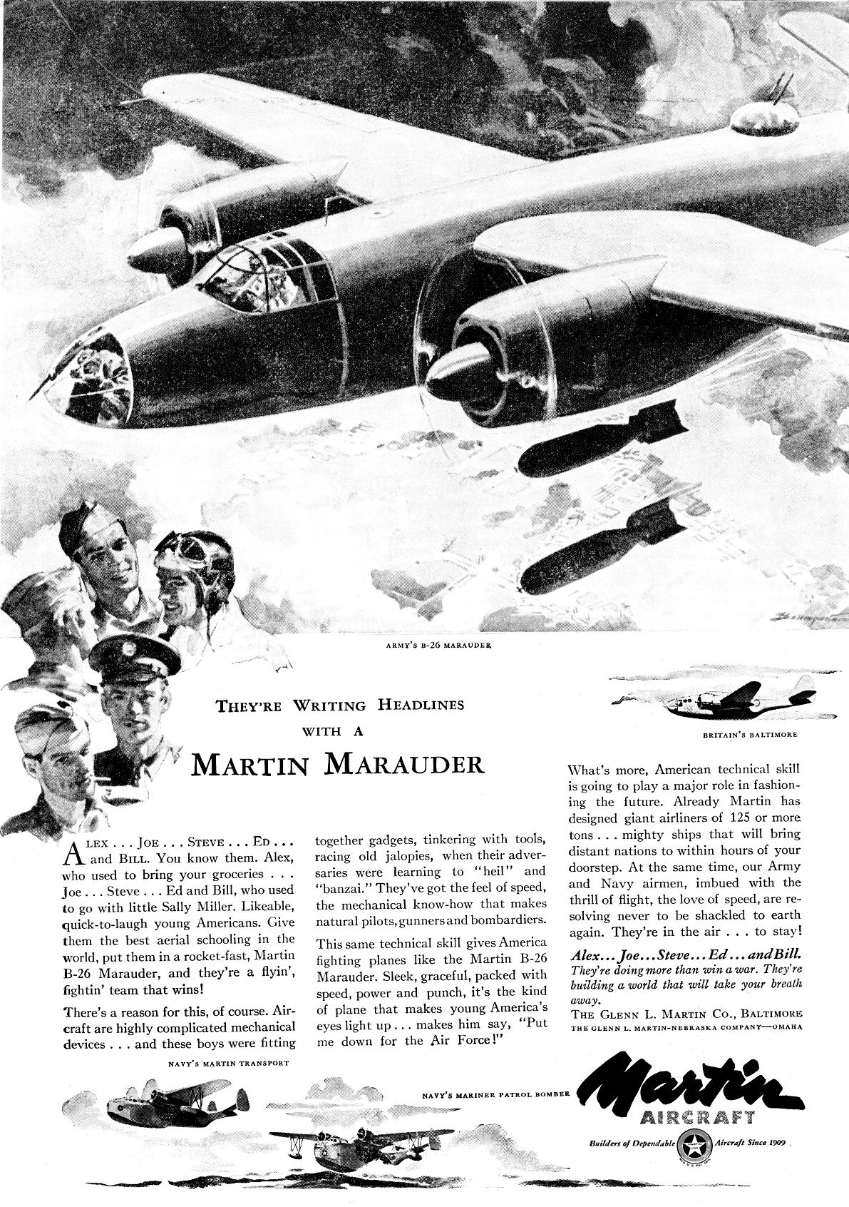 Pin By Frank Castrillo On Martin B 26 Marauder
