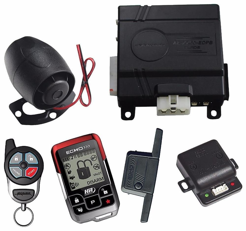 Excalibur Al2060edpb 2 Way Remote Start Car Alarm Keyless Entry Ford Security Systems System