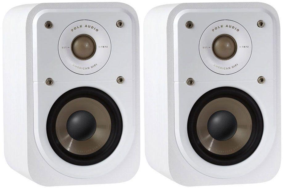 The Polk S10e Satellite speakers improve upon Polk's previous
