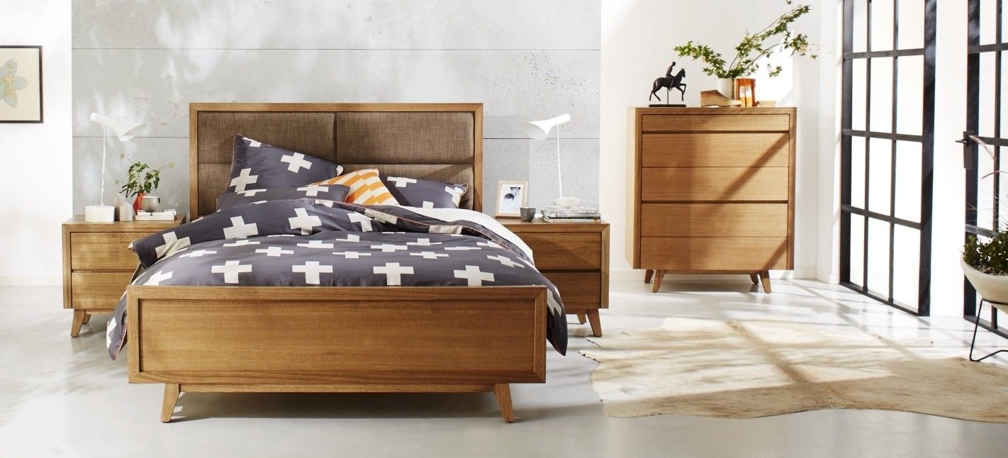 Light Maple Bedroom Furniture Retro Bedroom Furniture Australian Made Constructed From Solid