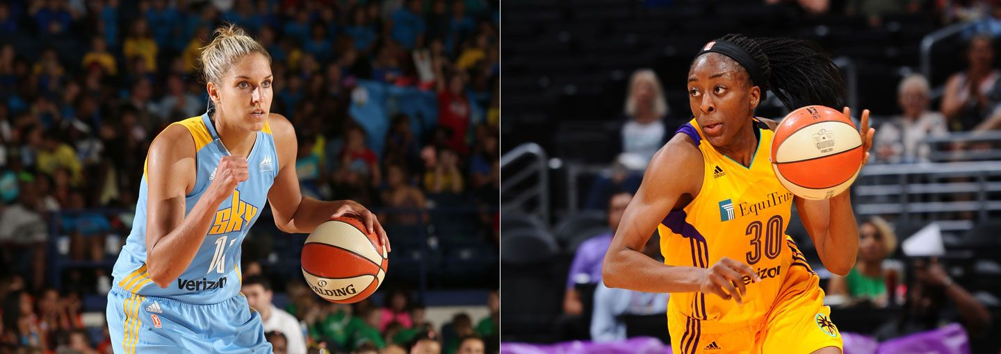 Sky S Delle Donne Sparks Ogwumike Named Wnba Players Of The Week Wnba Com Official Site Of The Wnba Wnba Stanford Womens Basketball Basketball Players