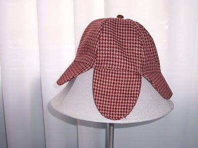 Sherlock Holmes Hat Pattern and Tutorial  31c7c5c9401