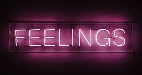 Imagen De Feelings Pink And Neon Portadas Para Facebook