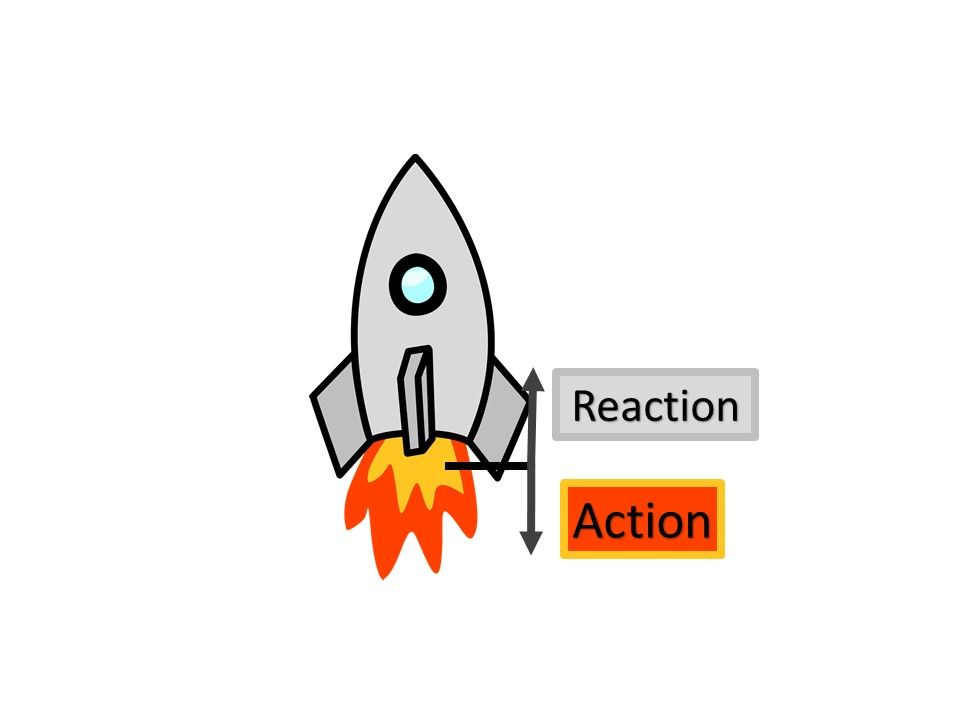 Action Reaction So If You Create A Low Pressure There Is High Pressure That Dissolves The L In 2021 Newtons Third Law Newtons Third Law Of Motion Newtons First Law