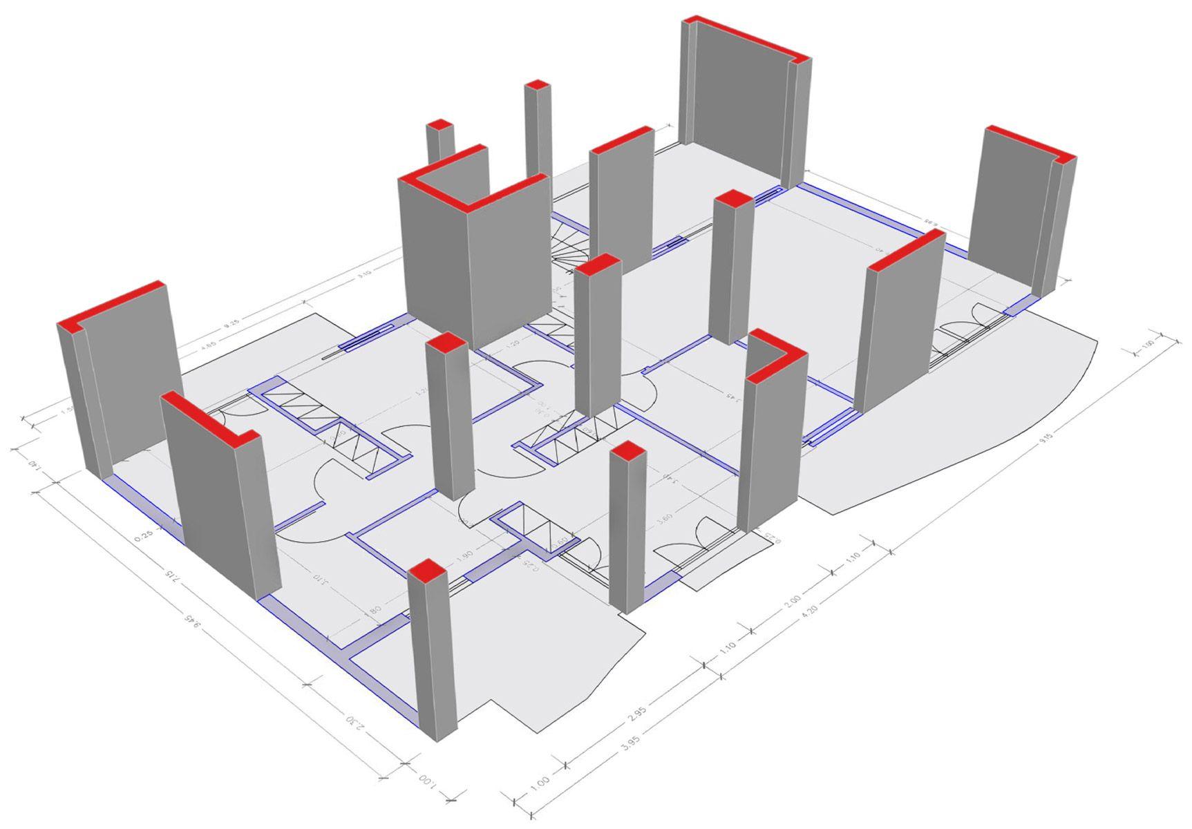 Rc Shear Wall Plan Google Search Architecture Concrete Building Building