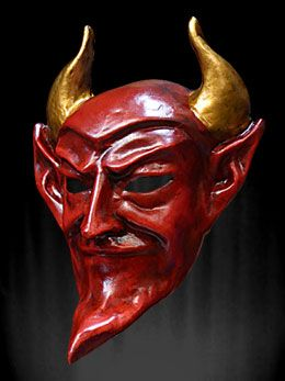 paper devil mask - Google Search | spooky | Devil ...