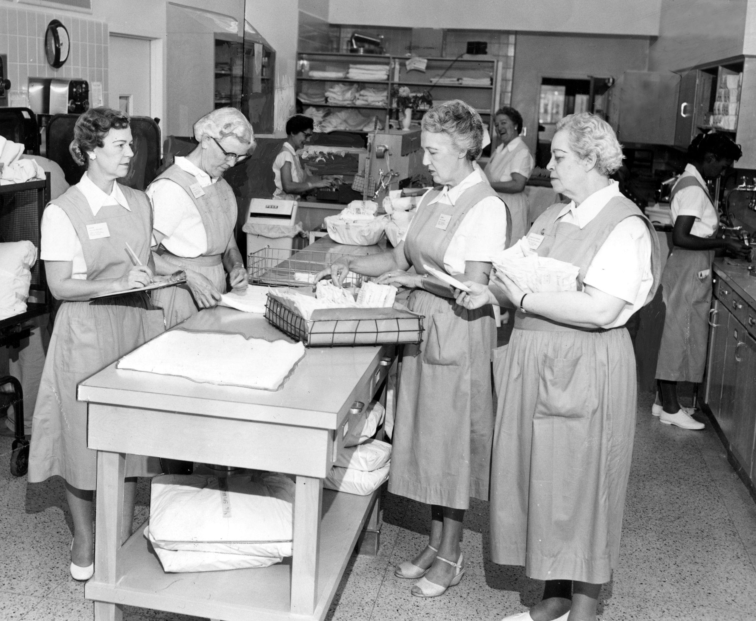 Mary moon volunteers 1962 medical services nursing