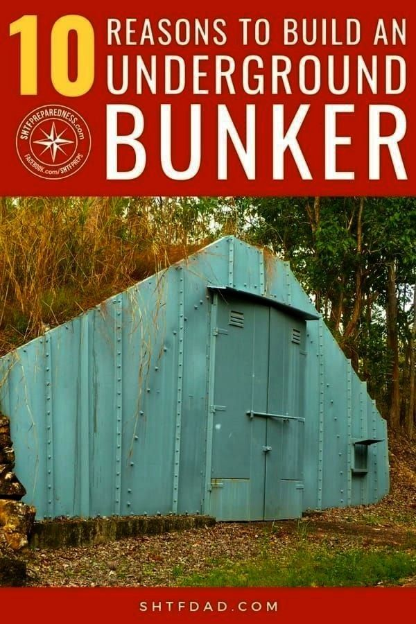 to Build an Underground Bunker -10 Reasons to Build an Underground Bunker -  Camper's Toilet Paper