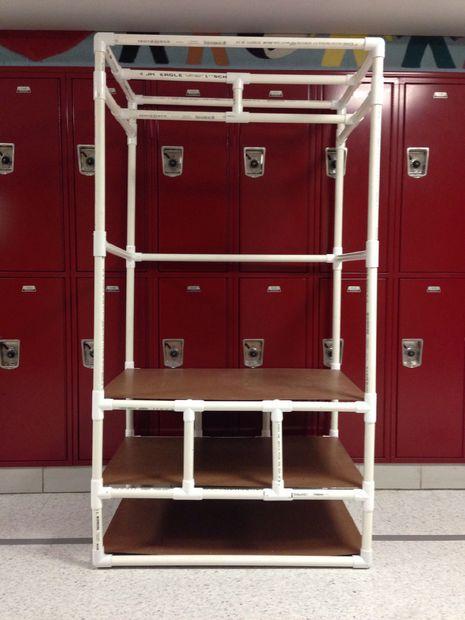 C mo hacer un organizador de armario hecho de pvc - Organizador de armarios ...