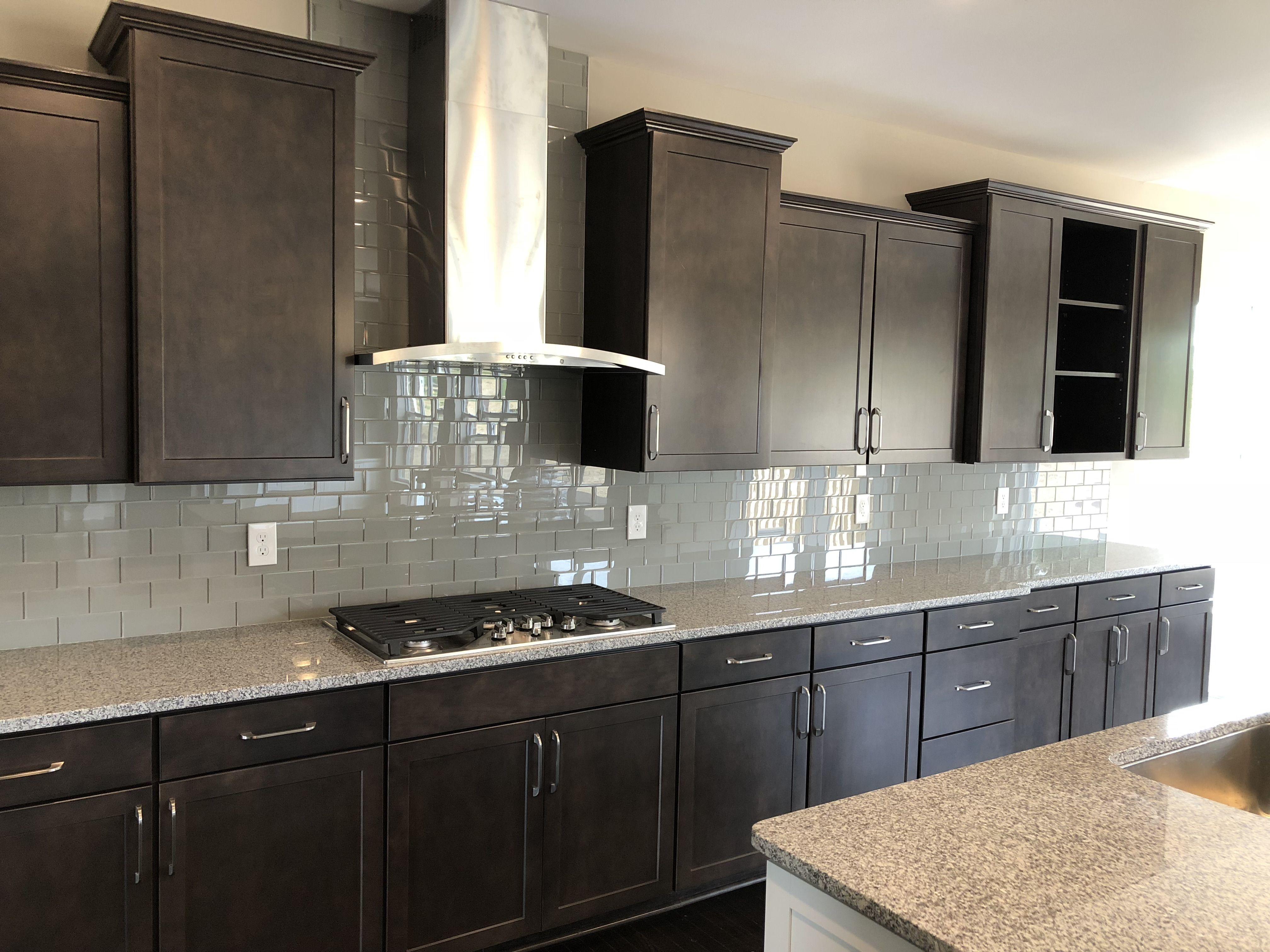 Gourmet Kitchen Winstead Flagstone Perimeter Cabintes Kitchen Cabinets Home Kitchens Kitchen