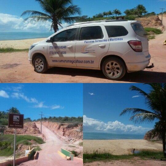 Passeios pelas praias do litoral do Prado, Extremo Sul da Bahia.  www.cumurumagicaltour.com.br