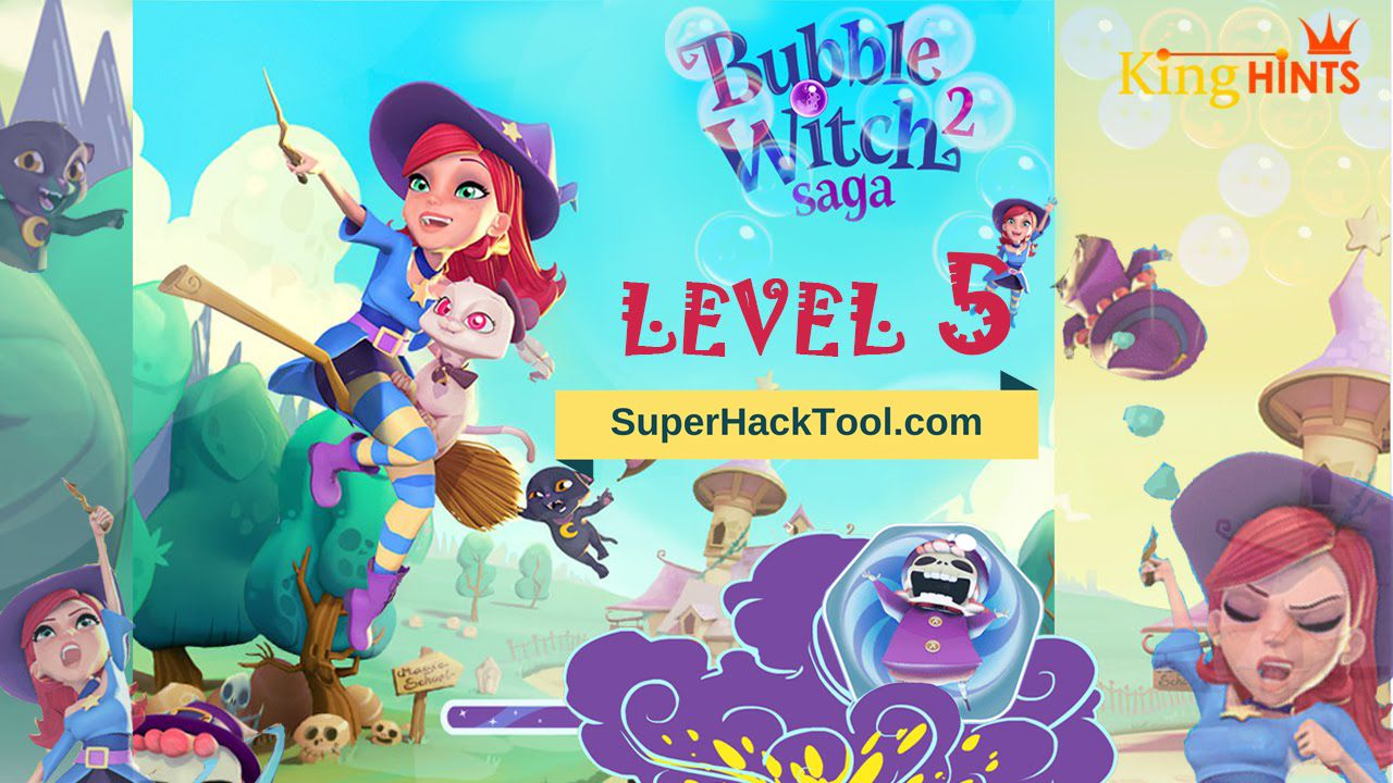 Bubble Witch 3 Saga Hack Tool for Android and iOS Get
