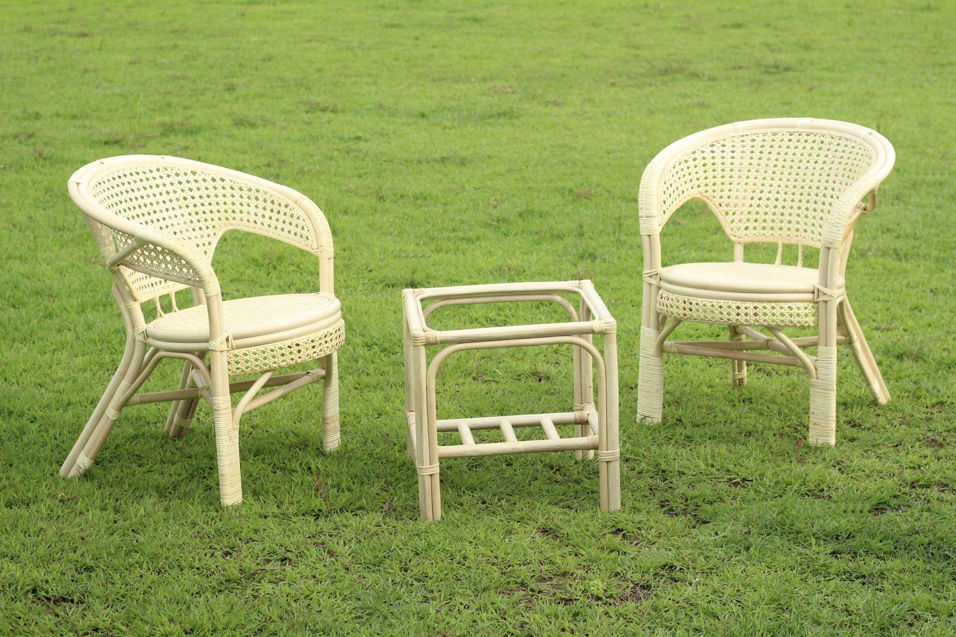 Outdoor Rattan Patio Furniture Set
