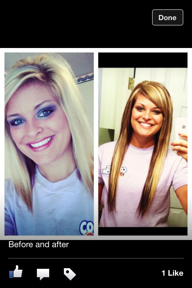 Before And After Sew In Extensions Beauty Pinterest Hair