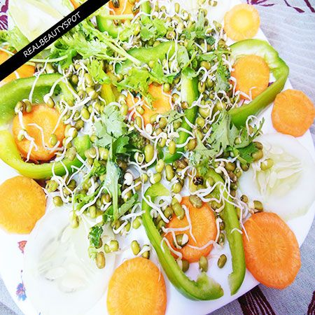CARROT SPROUT SALAD BENEFITS AND RECIPE
