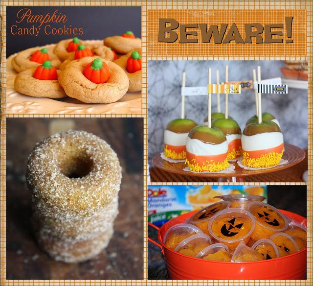It\u0027s Written on the Wall 25 Halloween Treat/Dessert Ideas for - halloween treat ideas for school parties