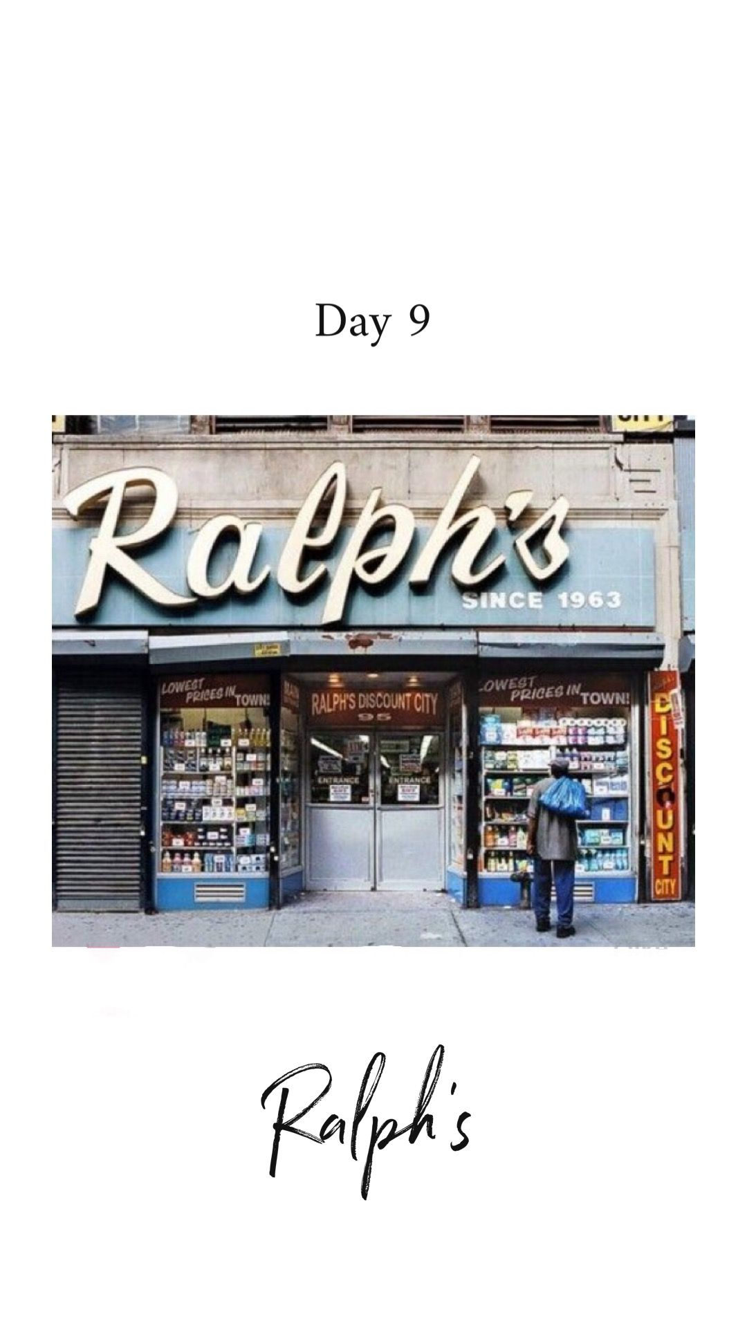 Reference Photo Ralph S Store Fronts Nyc New York City