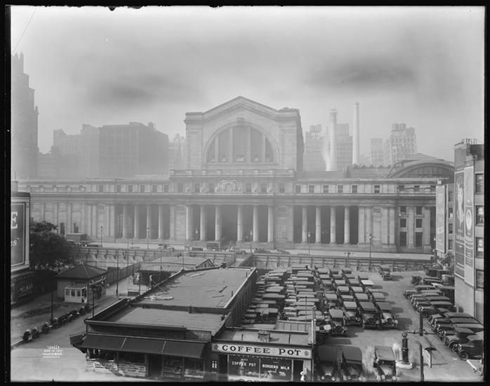 View From 34th Street Looking Due South At Penn Station Taken For Offices Of Estate Stove Co Penn Station Nyc Long Island Railroad Vintage New York